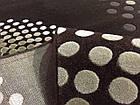 Коврик современный FLORYA 0033 0,8Х1,5 БЕЖЕВЫЙ прямоугольник, фото 2