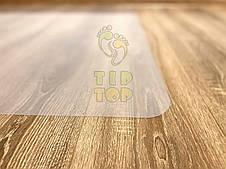 Защитный коврик под офисное кресло Tip Top™ 1,5мм 1000*1500мм Полуматовый (прямые края), фото 3