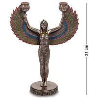 Статуэтка подсвечник Veronese Исида богиня материнства и плодородия 31 см 1904158 фигурка веронезе
