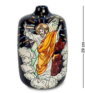Ваза настольная Pavone 29 см 1103711 фарфор фарфоровая черная ваза с рисунком павоне