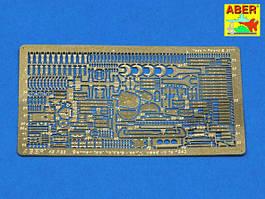 Немецкие держатели инструмента - ранние использовались до 1943 года. Набор травления. 1/48 ABER 48A22