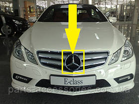 Mercedes E W207 W 207 зірка емблема значок в решітку радіатора новий