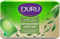 Мыло DURU Natural Olive с оливковым маслом и листьями оливы (150г.)