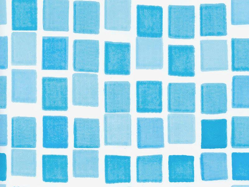 Плівка ПВХ лайнер 5,5 х 3,7 м. Mosaic мозайка для овальних збірних басейнів Azuro, Atlantic Pools