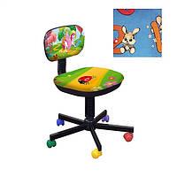 Кресло детское Бамбо Цифры - синий