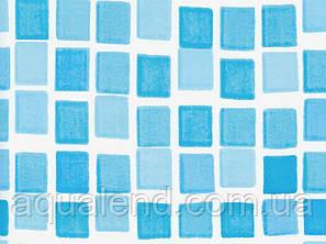Плівка ПВХ лайнер 7,3 х 3,7 м. Mosaic мозайка для овальних збірних басейнів Azuro, Atlantic Pools, фото 2