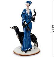 Статуэтка Pavone Di Kaye Дама 34 см 1103471 фарфор фарфоровая фигурка павоне ретро девушка и собака