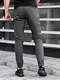 Мужские Джоггеры BEZET Techwear black'20, серые мужские джогеры безет, фото 4