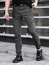 Мужские Джоггеры BEZET Techwear black'20, серые мужские джогеры безет