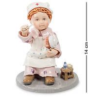 Статуэтка Pavone Юный доктор 14 см 1101273 фарфор фарфоровая фигурка павоне ребенок врач