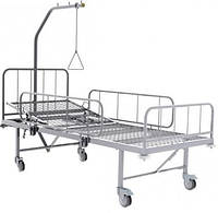 Кровать медицинская двухсекционная КФ-2 , Кровать больничная функциональная КФ-2