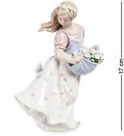 Статуэтка Pavone Юная леди 17 см 1104425 фарфор фарфоровая фигурка павоне девочка девушка
