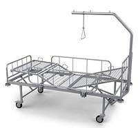 Кровать медицинская четырехсекционная КФ-4 , Кровать больничная функциональная КФ-4