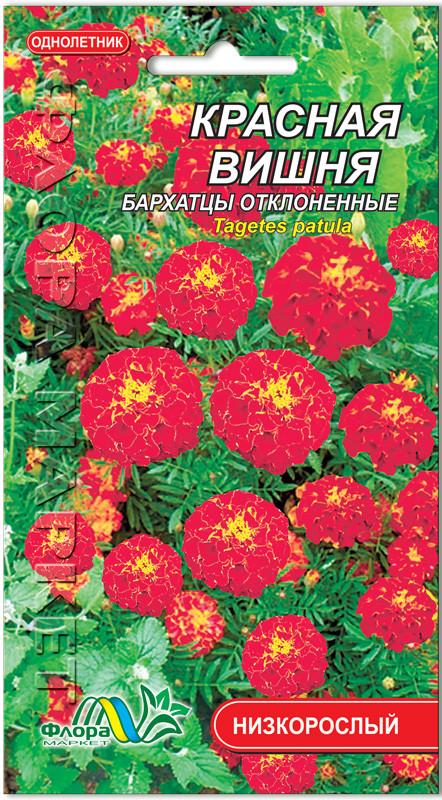Семена Бархатцев Красная вишня  0.1 г