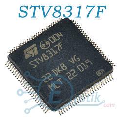 STV8317F, аудіо процесор, LQFP100