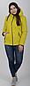 Модная фабричная демисезонная куртка на силиконе