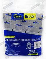 1,5 мм (Основа 250 шт.) Система выравнивания плитки LUX, фото 1
