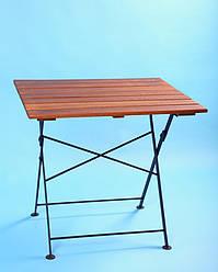 Стол для террасы раскладной 715*800 Тик