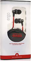 Наушники Ergo ES-900i Black (+microphone)