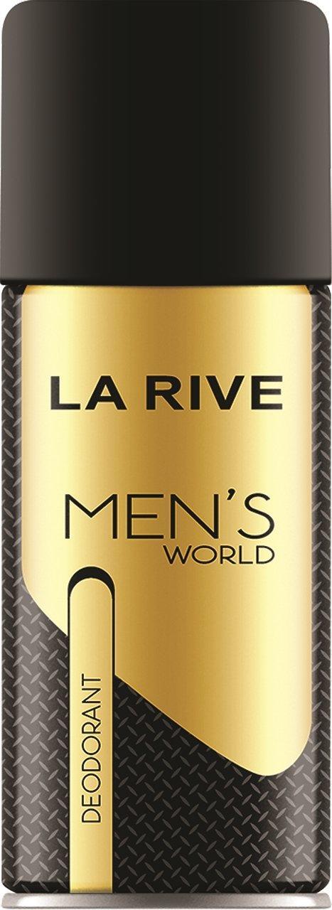"""Дезодорант мужской La Rive """"Men's World"""" (150мл.)"""