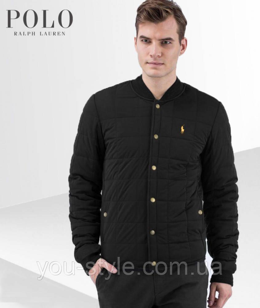 Демисезонная классическая куртка Polo Ralph Lauren копия ААА+