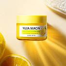 Ночная маска осветляющая для лица с юдзу (мини) Some By Mi Yuja Niacin Brightening Sleeping Mask 15г, фото 6