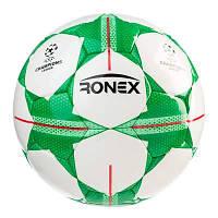 Мяч футбольный DXN Ronex FN1, зеленый.