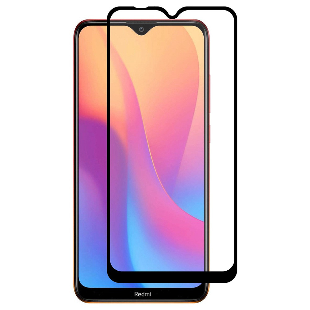 Защитное стекло 19D (full glue) (тех.пак.) для Xiaomi Redmi 8 / 8a
