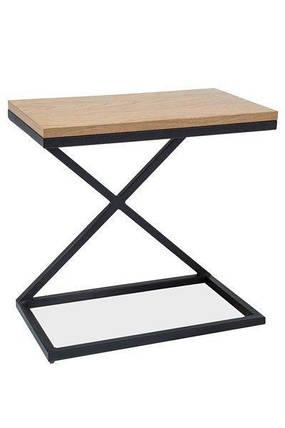 Кофейный столик LIZ II Signal дуб/черный, фото 2