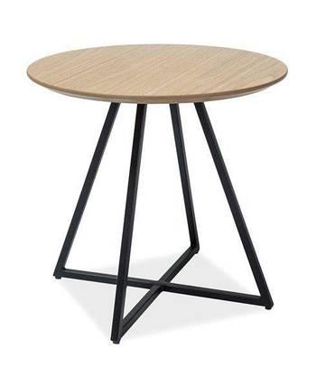 Кофейный столик VITA Signal дуб/черный, фото 2