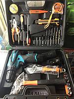 Шуруповерт Makita DF330DWE (12V 2A/h Li-Ion) з набором інструментів, Акумуляторний шуруповерт Макіта