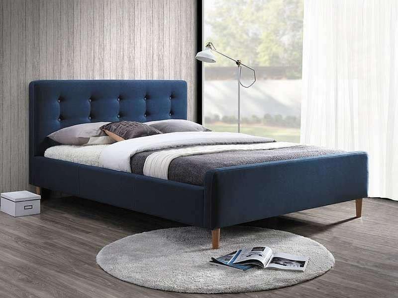 Кровать Pinko 160x200 Signal синий