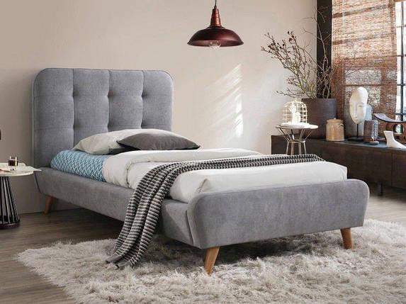 Кровать Tiffany 90x200 Signal серый, фото 2