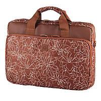 Сумка для ноутбука Continent CC-032 Brownprints, фото 1