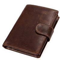 Кошелек универсальный Vintage 14926 Коричневый, Коричневый