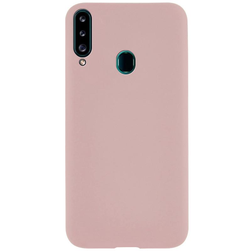 Силиконовый чехол Epic матовый soft-touch для Samsung Galaxy A20s
