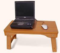 Раскладной столик для ноутбука и завтрака в кровать NT01 ольха