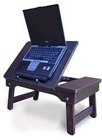 Деревянный столик для ноутбука NT02 венге