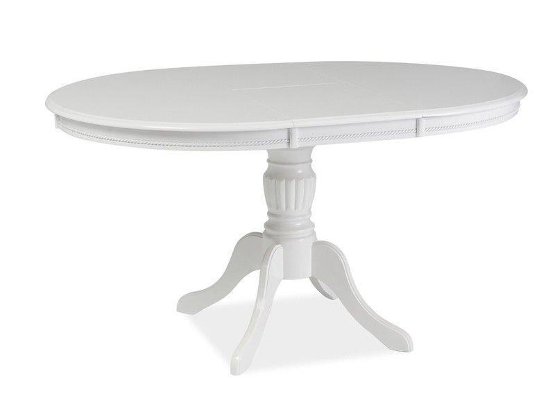 Стол обеденный деревянный Olivia Signal белый