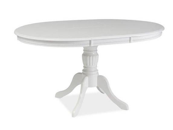 Стол обеденный деревянный Olivia Signal белый, фото 2