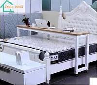 Универсальный выездной компьютерный стол для ноутбука и завтрака в кровать на колёсах Table BOOST