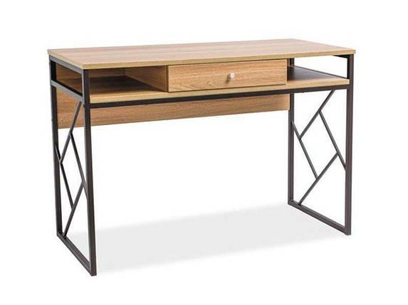 Стол письменный деревянный Tablo B Signal дуб/коричневый, фото 2