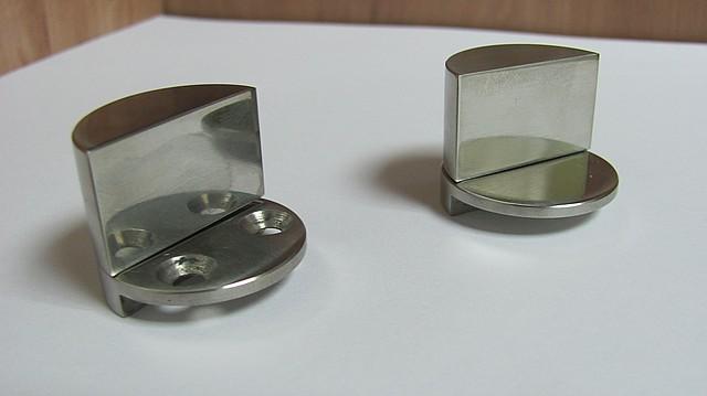 Петли для стекла (под ультрафиолетовую склейку)