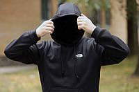Толстовка утепленная The North Face черная, фото 1