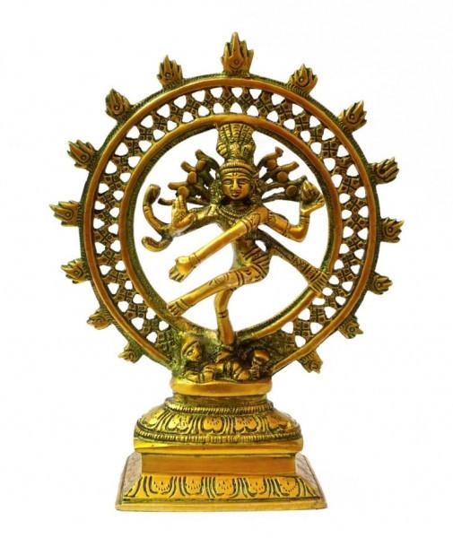 9070115 Статуэтка бронзовая Шива Натарадж