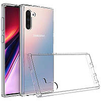 TPU чехол Epic Transparent 2,00 mm для Samsung Galaxy Note 10, фото 1