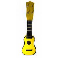 "Гитара ""Укулеле"" деревянная желтая (38х12х4 см) ( 32664)"