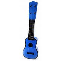 """Гитара """"Укулеле"""" деревянная синяя (38х12х4 см) ( 32664C)"""