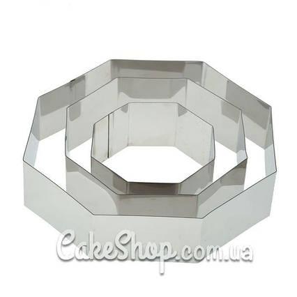 Набор форм для выпечки Восьмиугольник 3 шт.