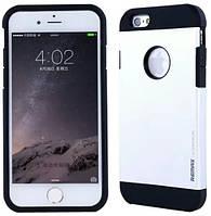 Бампер металевий Remax iPhone 6 срібний